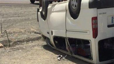 إصابة 11 في حادث انقلاب ميكروباص ببورسعيد