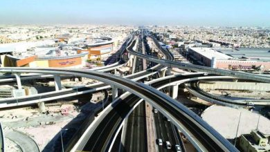 صورة افتتاح «محور صباح الأحمد»… عيدية قطر للكويت