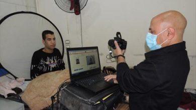 صورة الأحوال المدنية توجه مأمورية لتجديد بطاقة الرقم القومي لمريض بأحد المستشفيات
