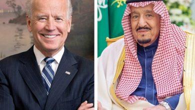 صورة البيت الأبيض: الرئيس جو بايدن يجري اتصالا هاتفيا بالعاهل السعودي الملك سلمان
