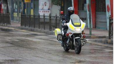 التعميم على 21 مركبة و 23 دراجة نارية بمخالفات القيادة في البحر الميت