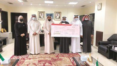 صورة السبيعي لـ الأنباء تبرع بقيمة 8000 دينار من تعاونية الجابرية للفرق الطبية الخاصة بخدمة كبار السن