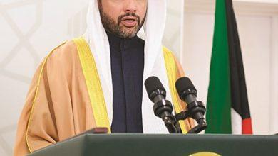 رئيس مجلس الأمة مرزوق الغانم متحدثا
