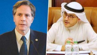 صورة بلينكن يهنئ الناصر بالأعياد الوطنية.. ويجدد التزام الولايات المتحدة بأمن واستقرار الكويت