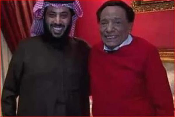 عادل إمام وتركي آل الشيخ