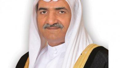 صورة حاكم الفجيرة يهنئ خادم الحرمين الشريفين بنجاح العملية الجراحية التي أجراها ولي العهد السعودي