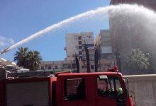 حريق هائل في مخزن قطع غيار سيارات بطنطا