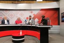 """صورة خلال مؤتمر صحفي برام الله… الإعلان عن تأسيس حراك """"وعد"""""""