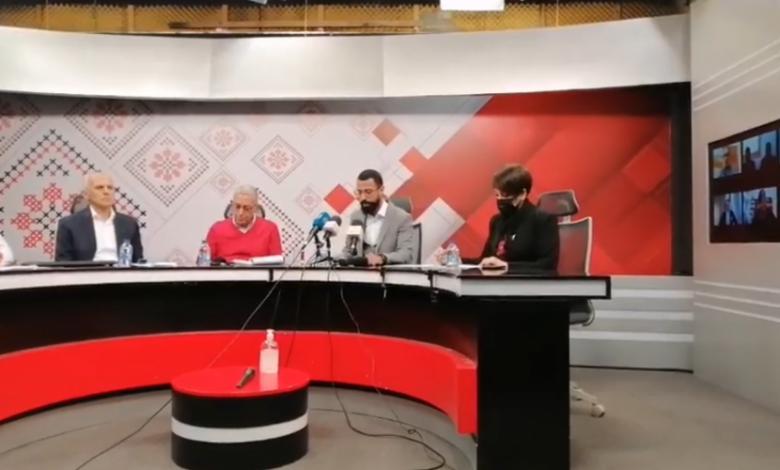 """خلال مؤتمر صحفي برام الله... الإعلان عن تأسيس حراك """"وعد"""""""