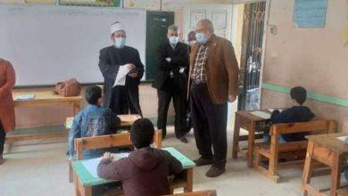 صورة رئيس منطقة المنوفية الأزهرية يتفقد امتحانات الابتدائي والثانوي