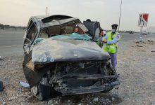 صورة صورة.. وفاة شقيقين مواطنين في حادث تدهور مركبتهما على طريق الإمارات