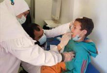 صورة علاج 1491 مريضا من أهالي قرية الزهور بقافلة صحة الإسكندرية
