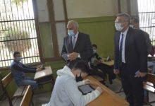 صورة محافظ الجيزة يتفقد لجان امتحانات الصف الأول الثانوي