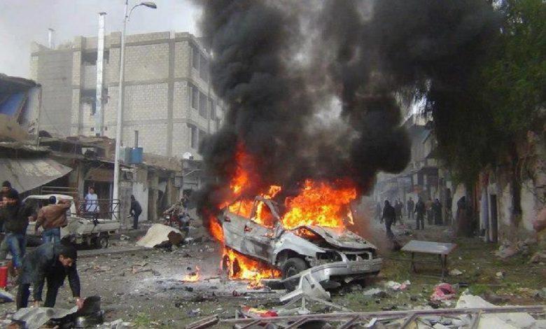 مقتل 5 مدنيين وإصابة 13 آخرين في انفجار بسوريا