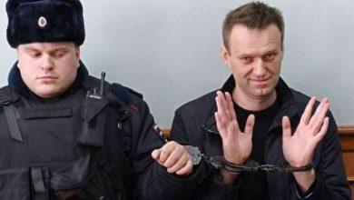 صورة نقل نافالني من سجنه في موسكو إلى مكان مجهول