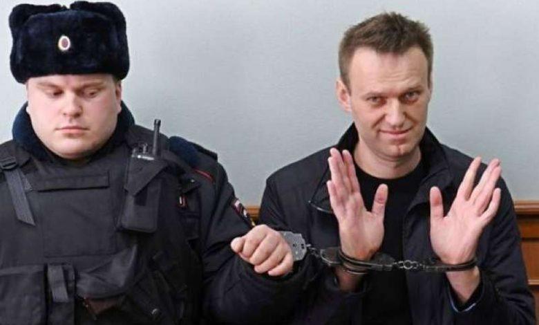 نقل نافالني من سجنه في موسكو إلى مكان مجهول