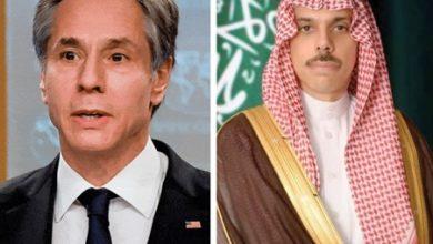 صورة وزيرا الخارجية السعودي والأميركي بحثا الشراكة الاستراتيجية