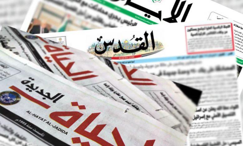أبرز عناوين الصحف الفلسطينية - سما الإخبارية