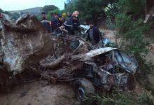 صورة الجزائر تحصي خسائرها بسبب الفيضانات.. سبعة قتلى وسيارات جرفتها السيول