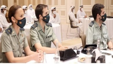 """صورة """"الداخلية الإماراتية"""" تختتم دورة مكافحة غسل الأموال بالتعاون مع نظيرتها الإسبانية"""