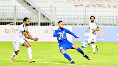 صورة المنامة يستعرض أمام النجمة الأهلي يهدر فرصة الفوز ويكتفى بنقطة التعادل مع الحد
