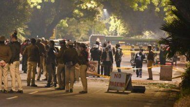 صورة الهند تتهم إيران بالوقوف وراء الانفجار قرب السفارة الإسرائيلية في نيودلهي .