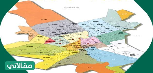 خريطة مدينة الرياض الموحدة لأنظمة البناء واستعمالات الأراضي سواح برس