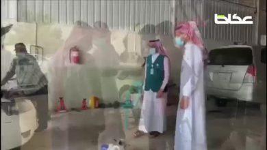 عكاظ ترافق فرع وزارة التجارة في الجبيل أثناء حملتهم على محال الورش وصيانة السيارات، للتأكد من تطبيق الاشتراطات الصحية والوقائية وتحرير مخالفات فورية على المخالفين - أخبار السعودية