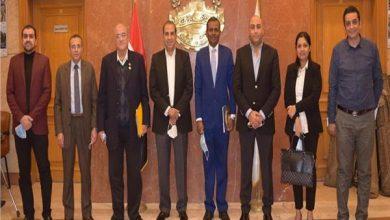 صورة غرفة القاهرة تبحث مع سفارة سريلانكا سبل زيادة التبادل التجاري