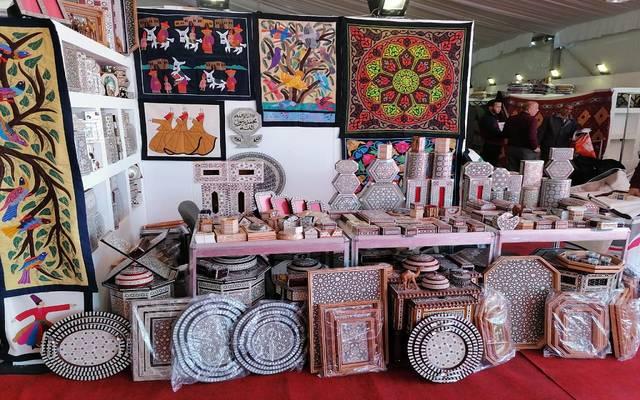معرض «البازار» للمشغولات والحرف اليدوية