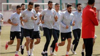 صورة مران الأهلي يشهد عودة نجم الفريق