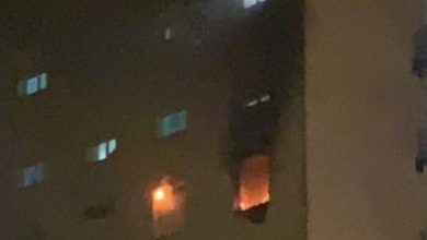 مصاب بكورونا يتسبب في نشوب حريق بمستشفى عزل