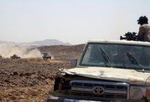 صورة مقتل 70 من الحوثيين في معارك بمحافظة تعز اليمنية