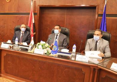 نائب وزير الصحة لشئون السكان يترأس الاجتماع الإقليمي للسكان بالبحيرة
