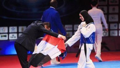 صورة نور حسين تتوج بذهبية بطولة صوفيا المفتوحة للتايكوندو