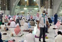 """صورة قادة الكشافة بـ""""تعليم مكة"""" يواصلون أعمالهم التطوعية في خدمة قاصدي"""