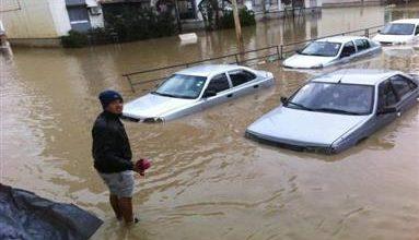 صورة مقتل 6 أشخاص في فيضانات غربي الجزائر