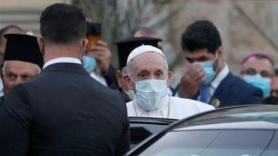 صورة بابا الفاتيكان يزور أربيل والموصل وقرقوش في العراق
