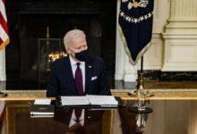 صورة Biden, İran'ı saldırganlıkla suçlayarak 'acil durumunu' uzattı