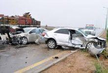 صورة إصابة 4 أشخاص في حادث مروري بجنوب سيناء