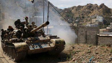 صورة الجيش اليمني وطيران التحالف يكبّدان مليشيا الحوثي خسائر كبيرة في جهة المشجح