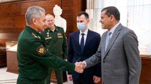 الدبيبة يطالب روسيا بإخراج «فاغنر» من ليبيا
