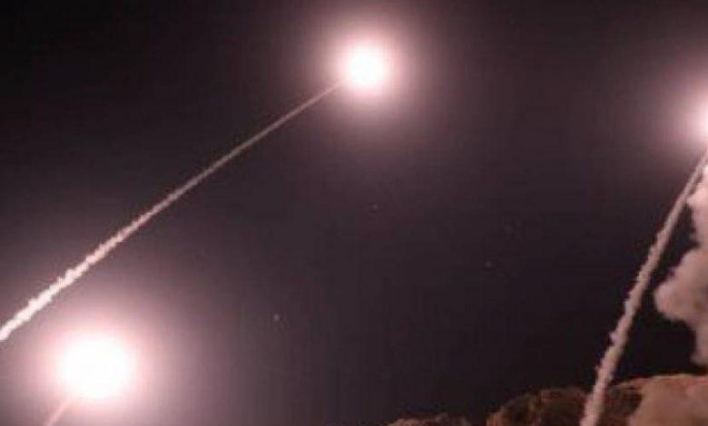الدفاعات الجوية السوري تتصدى لعدوان إسرائيلي في أجواء دمشق