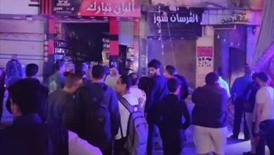 صورة السيطرة على حريق بعقار في منطقة طوسون شرقي الإسكندرية