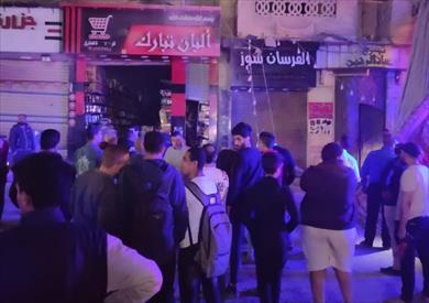 السيطرة على حريق بعقار في منطقة طوسون شرقي الإسكندرية