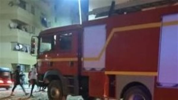 السيطرة على حريق في صالة جيم نادي سبورتنج