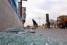 صورة الهجوم على مطار أربيل كان بطائرة دون طيار