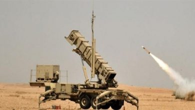 صورة تحالف دعم الشرعية في اليمن يدمر صاروخاً حوثياً أطلق على السعودية