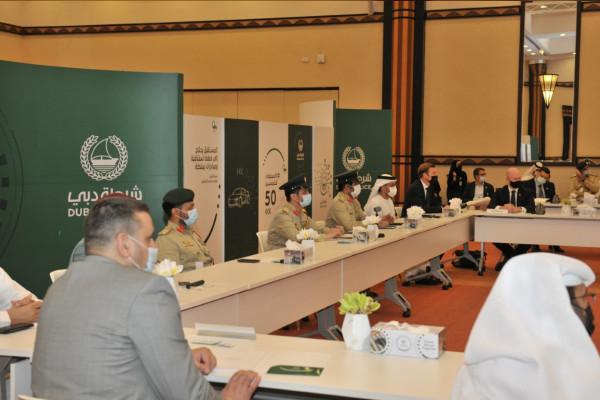 شرطة دبي تتعاون على الصعيدين المحلي والوطني لتأمين إكسبو 2020