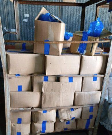 ضبط شركة بحوزتها مواد غذائية عليها علامة تجارية وهمية بالإسكندرية